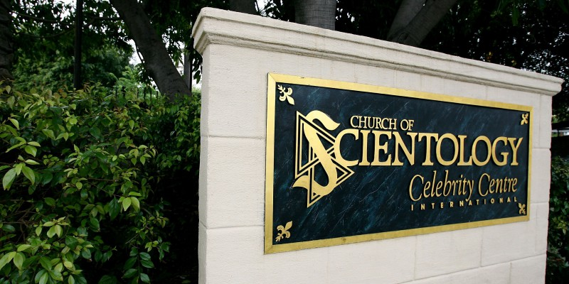 The exterior of the Church of Scientology Celebrity Centre International, Los Angeles, California (Photo by Getty Images/Getty Images)