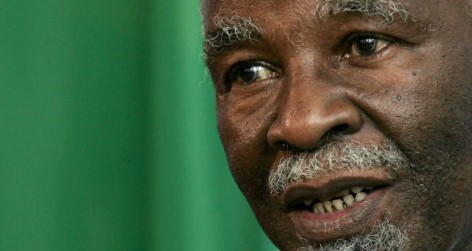 South African President Thabo Mbeki (Photo by Sean Gallup/Getty Images)