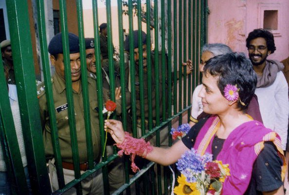 Author and activist Arundhati Roy released from jail