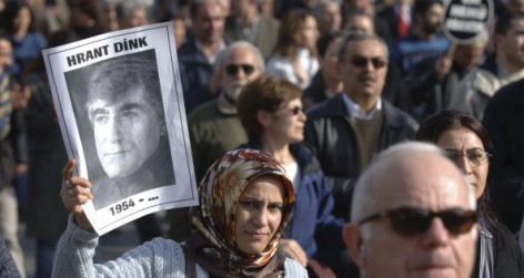 Funeral of assassinated Turkish journalist Hrant Dink (Photo by Burak Kara/Getty Images)