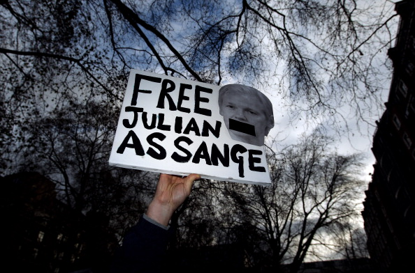 Julian Assange Appears At Court To Fight Extradition Move