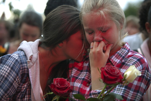 Vigil Held After Twin Attacks By Lone Extremist
