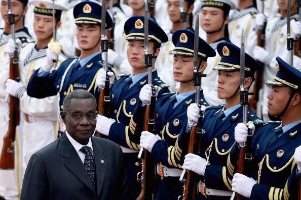 Ghana President John Atta Mills Visits China