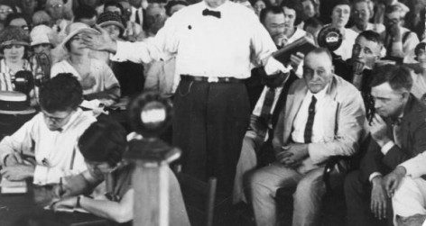 William Jennings Bryan At Scopes Trial
