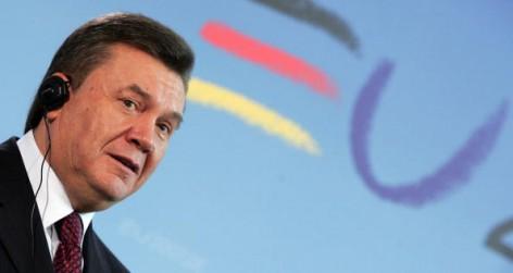 Merkel Meets Ukrainian PM  Yanukovich