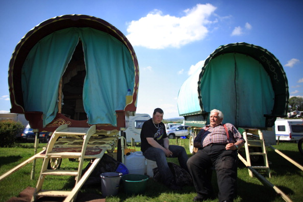 Travellers Attend The Annual Appleby Horse Fair