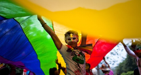 Indias LGBT Community Celebrates 4th Queer Pride March