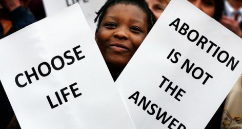 Pro - Lifers Mark The Fortieth Anniversary Of The Abortion Act