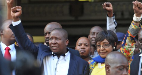 Julius Malema Appears In Court For Hate Speech
