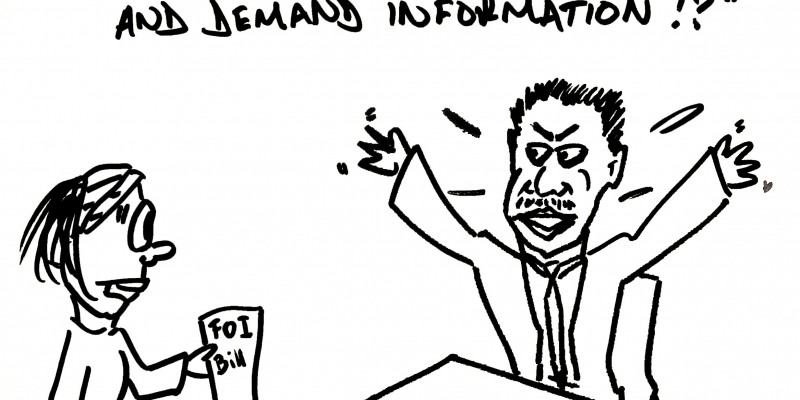 Zambia FOI cartoon