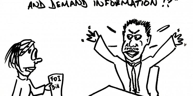 Zambia FOI cartoon