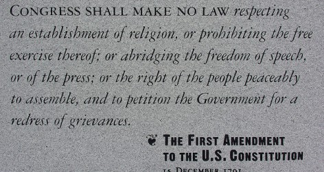 First Amendment US Constitution