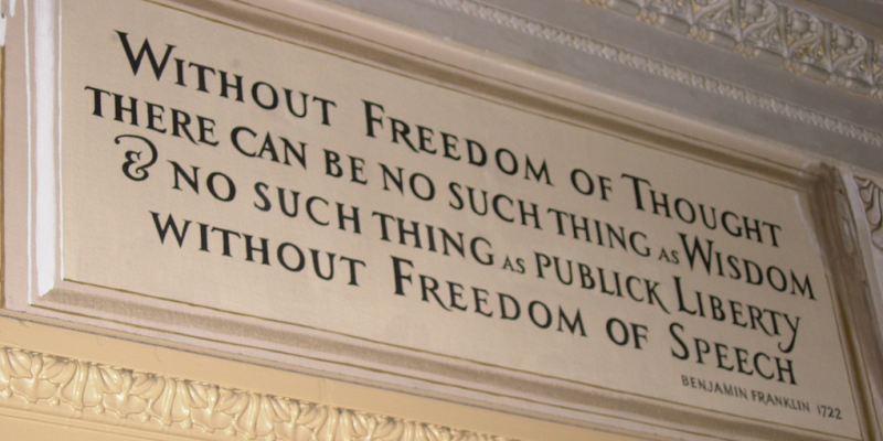 Quote by Benjamin Franklin (Photo by k_donovan11 under a Creative Commons  Attribution 2.0 Licence)