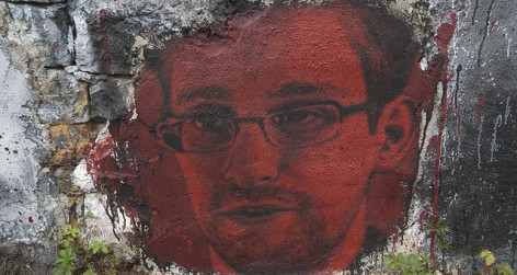 Whistle-blower Snowden