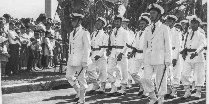 French military parade in Oran, Algeria, 1956. (Picture by Vasse Nicolas Antoine, under Creative Commons license)