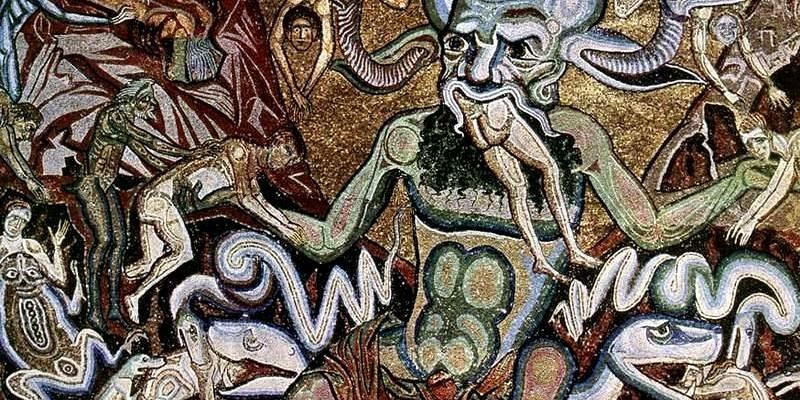 Coppo di Marcovaldo (1225–1274), 'The Hell'. Image in the public domain.