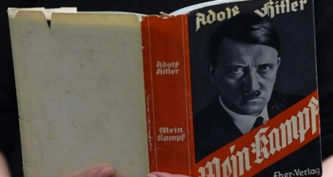 Adolf Hitler's Mein Kampf (Image in the public domain)
