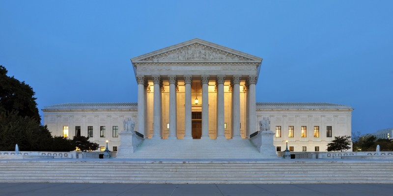 The United States Supreme Court (Photo by Joe Ravi under a Attribution-ShareAlike 3.0 Unported Licence)