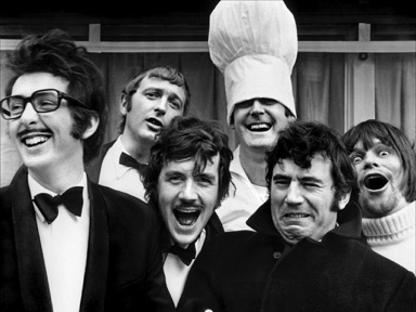 Monty Python Cast. (Photo by Paul Townsend under a Creative Commons Attribution Share-Alike licence.) Image link: http://bit.ly/2fbkenn.