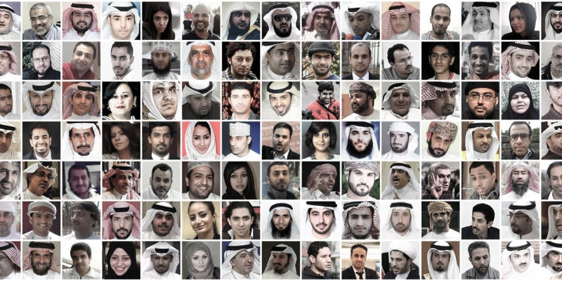 140 dissidents. Photo courtesy of Human Rights Watch.